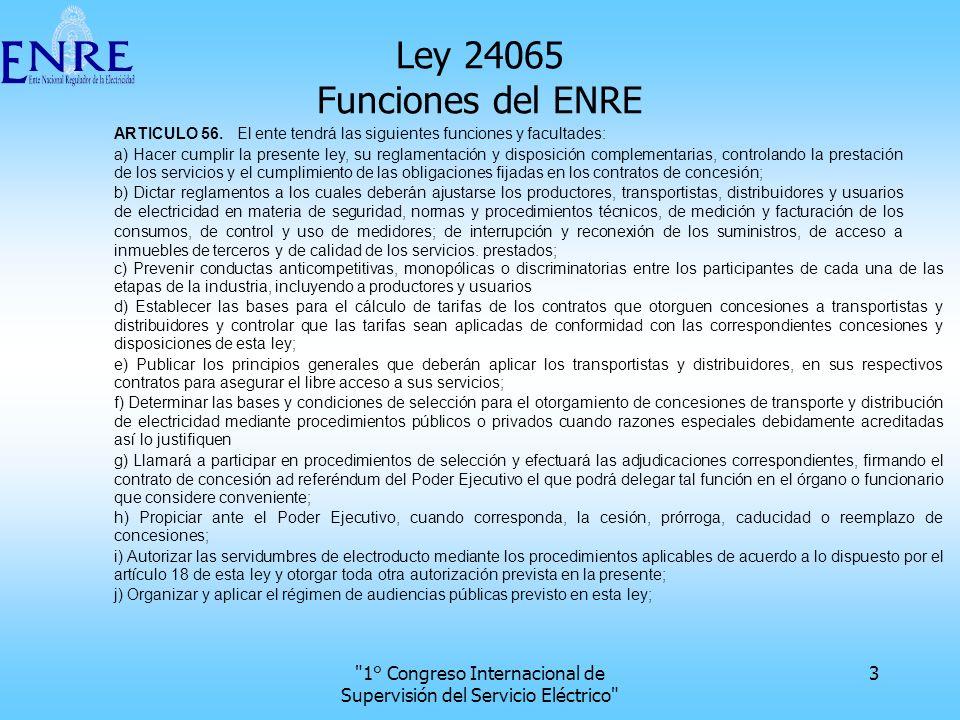 1° Congreso Internacional de Supervisión del Servicio Eléctrico 24 Localización geográfica 1 20 km