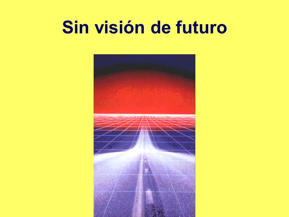 Sin visión de futuro