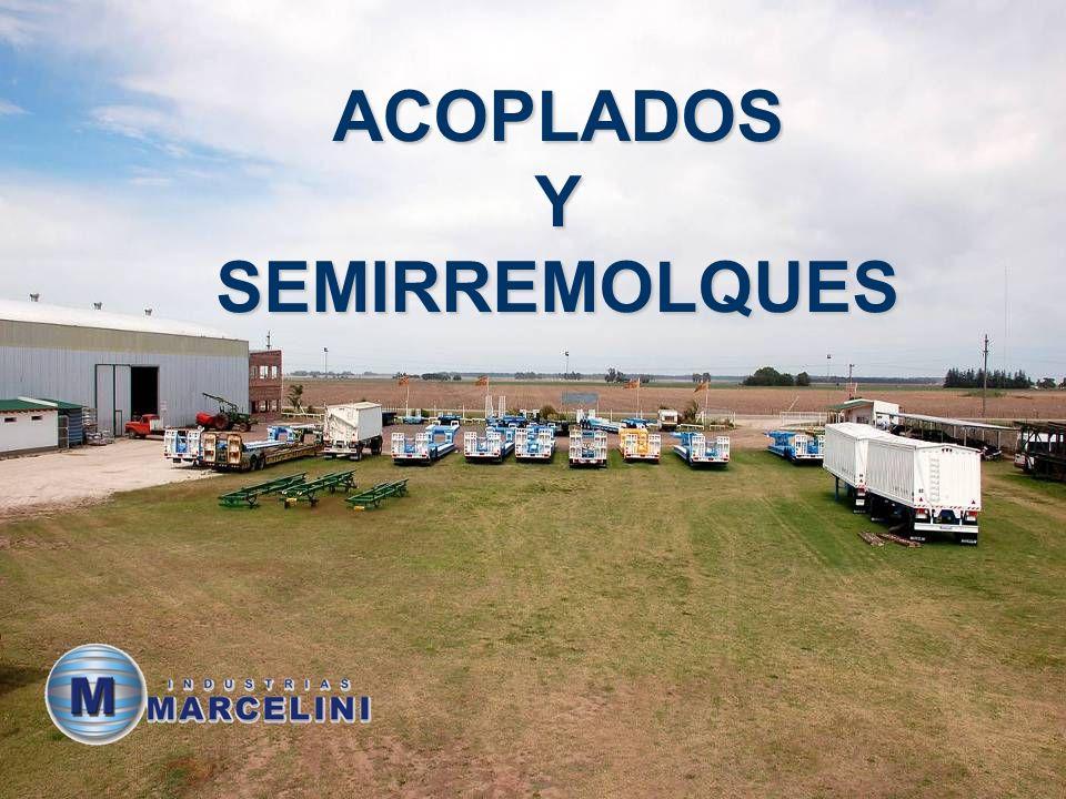 Industrias Marcelini Calle 36 y 53 Villa Cañás – Santa Fe – Argentina CP 2607 Tel.: +54 3462-450790 / 451311 www.marcelinimetalurgica.com marcelini@waycom.com.ar www.marcelinimetalurgica.com