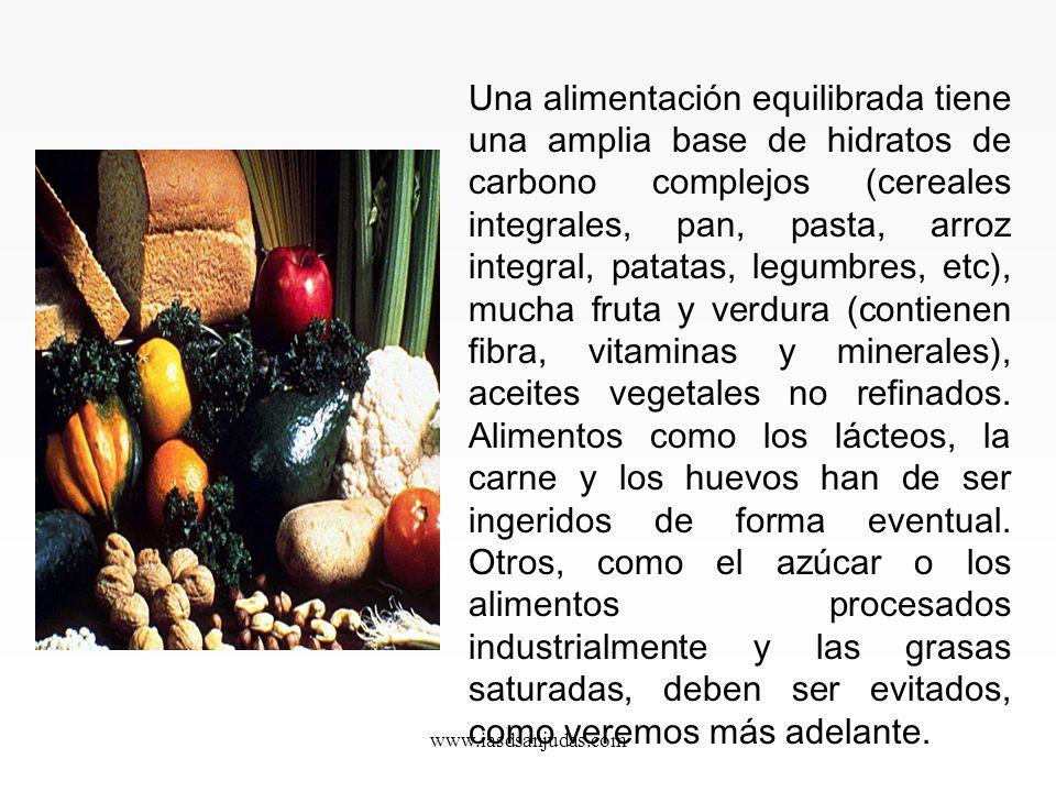 www.iasdsanjudas.com Los oligosacáridos Contenidos en frutas y hortalizas, son macromoléculas formados por 4 a 12 moléculas de glucosa.