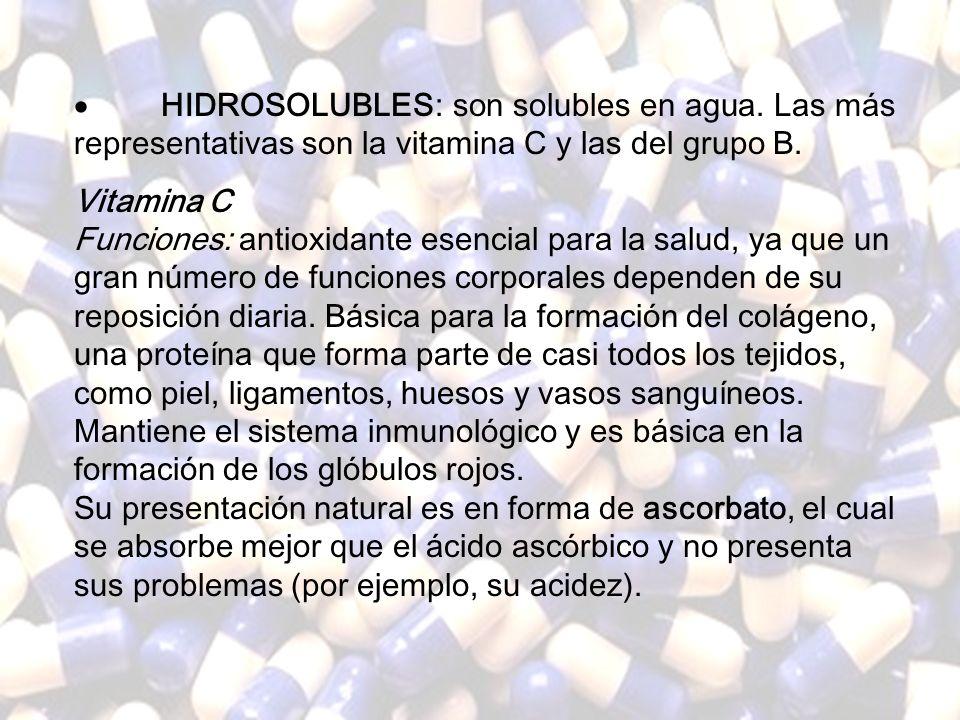 www.iasdsanjudas.com 5. Vitaminas Las vitaminas son compuestos orgánicos, que aunque en cantidades muy pequeñas, son esenciales para el desarrollo de