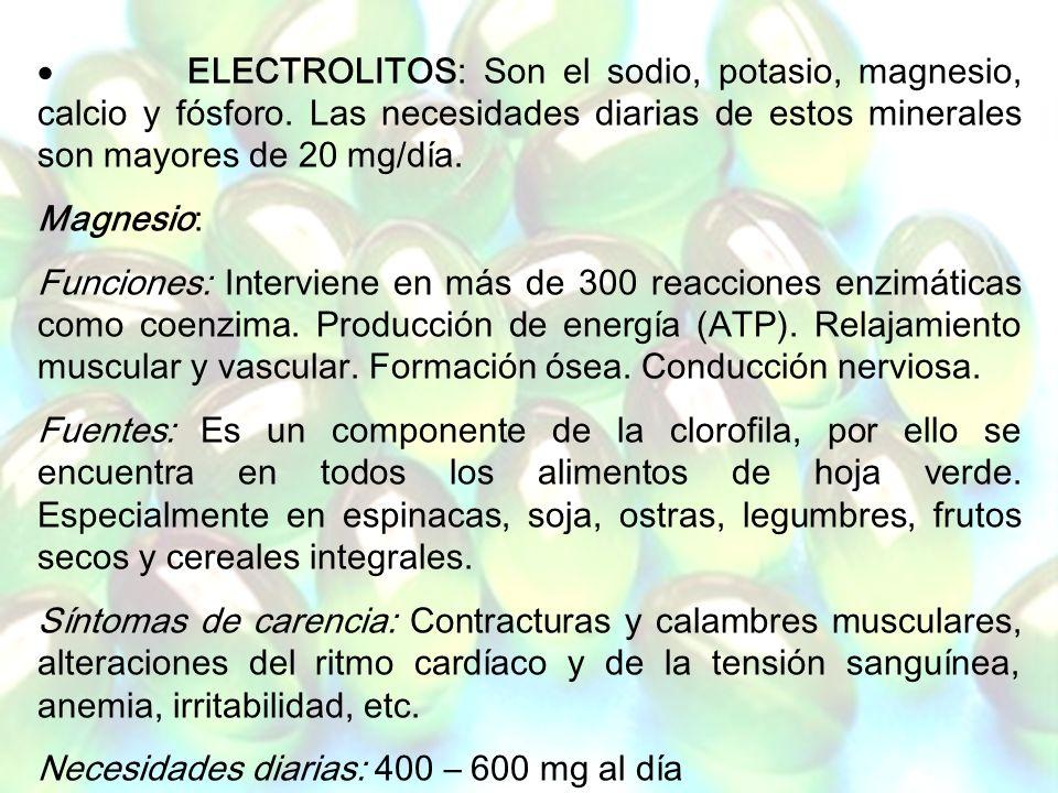 www.iasdsanjudas.com 6. Minerales Los minerales, al igual que las vitaminas, actúan como cofactores en el metabolismo corporal y están implicados en t