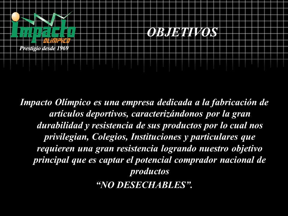 Impacto Olímpico es una empresa dedicada a la fabricación de artículos deportivos, caracterizándonos por la gran durabilidad y resistencia de sus prod