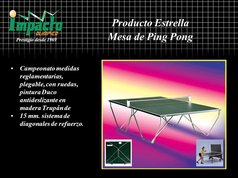 Campeonato medidas reglamentarias, plegable, con ruedas, pintura Duco antideslizante en madera Trupán de 15 mm. sistema de diagonales de refuerzo. Pro
