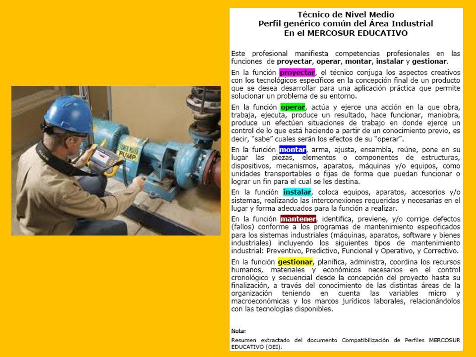 El REPAG Reglamento de Pasaje de Grado Curso + Proyecto Final + Pasantía Titulación Técnico en Mantenimiento Industrial