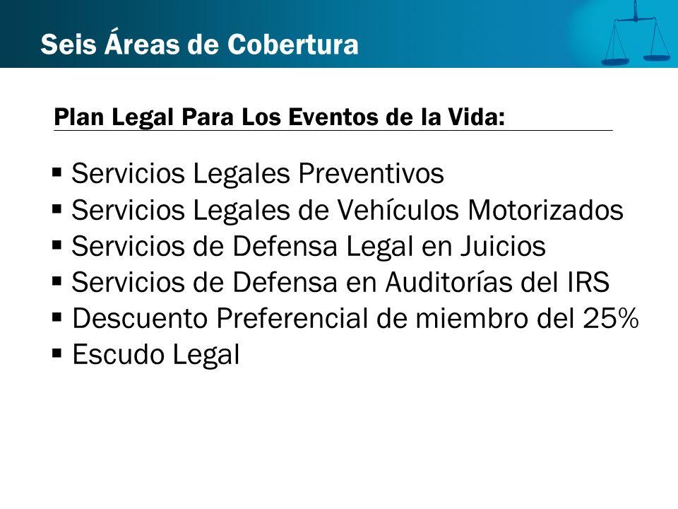 Servicios Legales Preventivos Servicios Legales de Vehículos Motorizados Servicios de Defensa Legal en Juicios Servicios de Defensa en Auditorías del