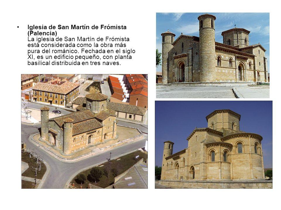 Iglesia de San Martín de Frómista (Palencia) La iglesia de San Martín de Frómista está considerada como la obra más pura del románico. Fechada en el s