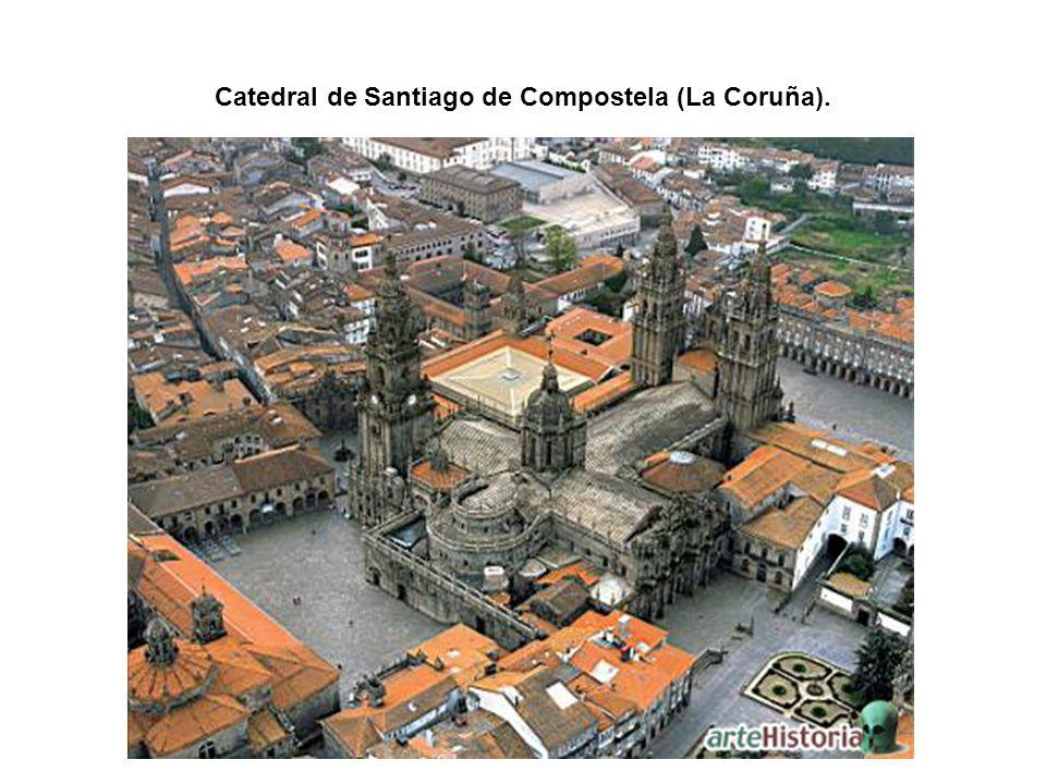 Catedral de Santiago de Compostela (La Coruña).