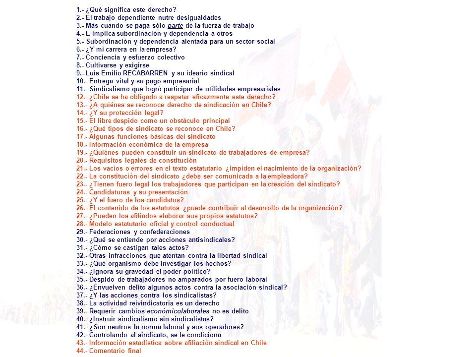 El contenido de dicho texto, los principios, las funciones y las finalidades sindicales pueden ser acordadas por los propios afiliados, enriqueciendo la pauta básica que indica el artículo 220 del Código laboral.