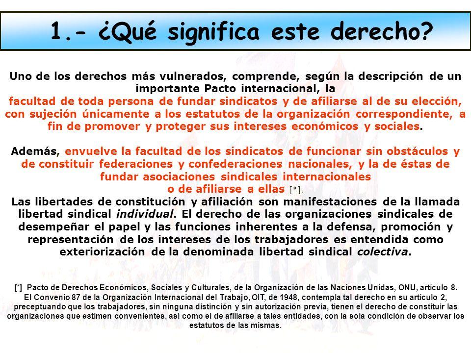 Las conductas perpetradas contra sindicalistas en su calidad de tales en no pocos casos encuadran con tipificaciones penales, es decir, constituyen delitos.
