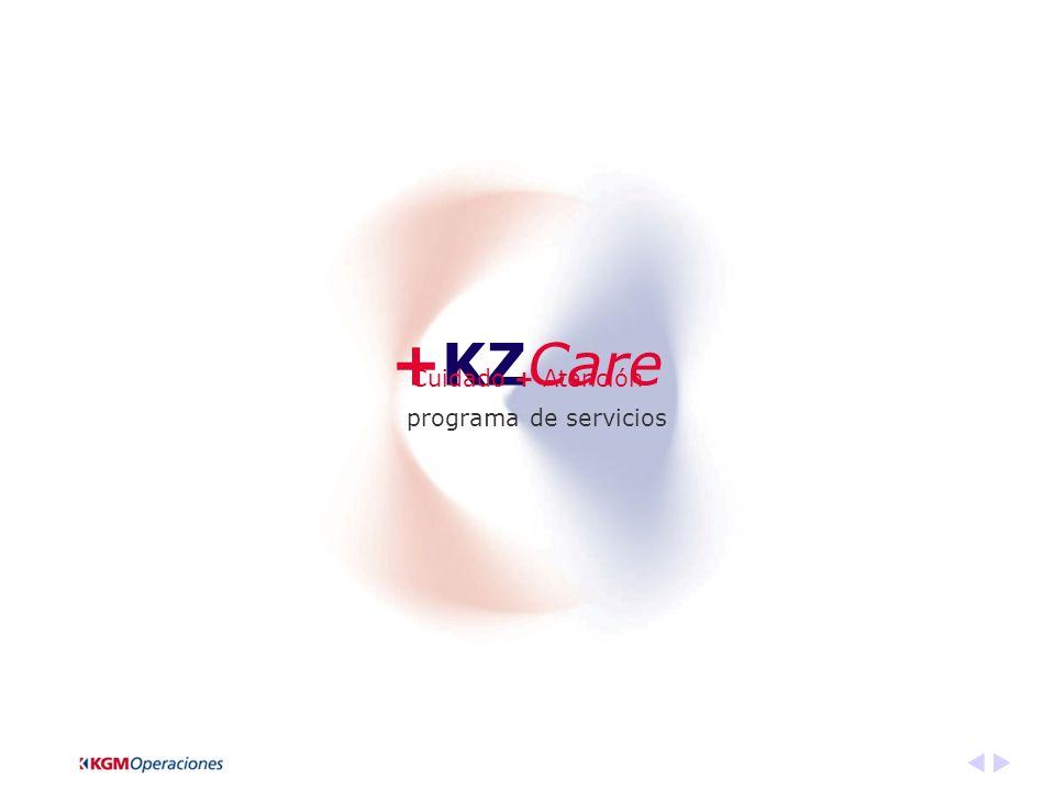 +KZCare programa de servicios Cuidado + Atención