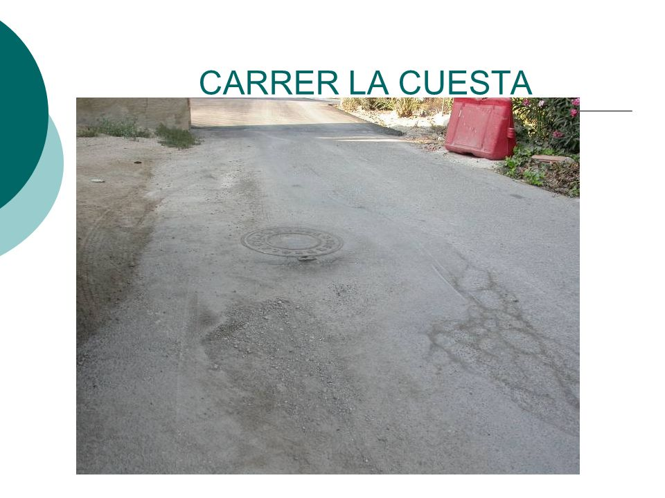 CARRER LA CUESTA