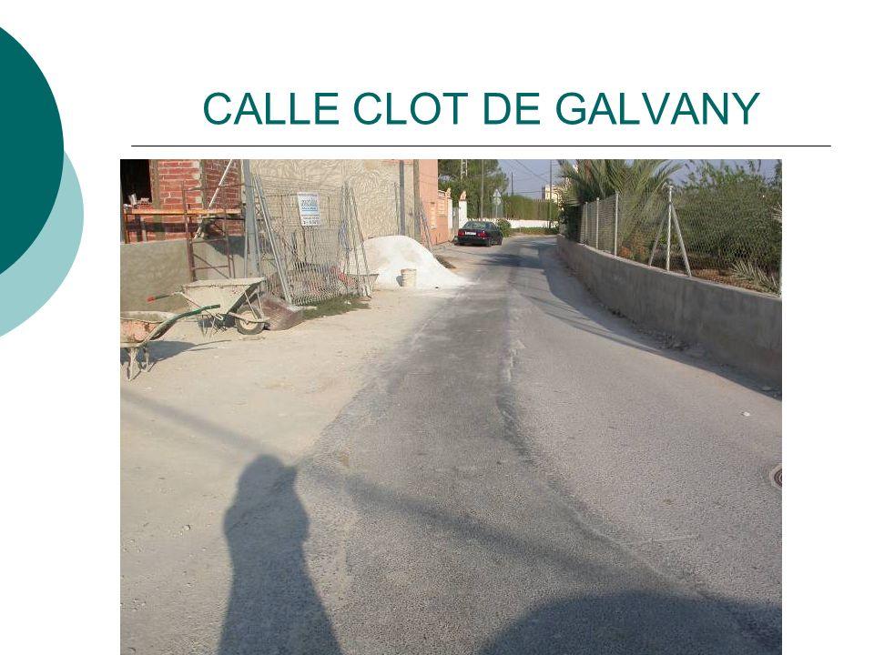 CALLE CLOT DE GALVANY
