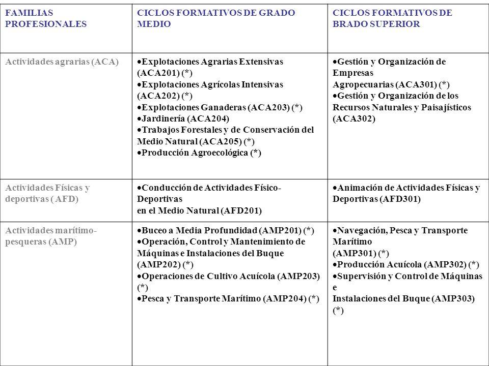CICLOS FORMATIVOS
