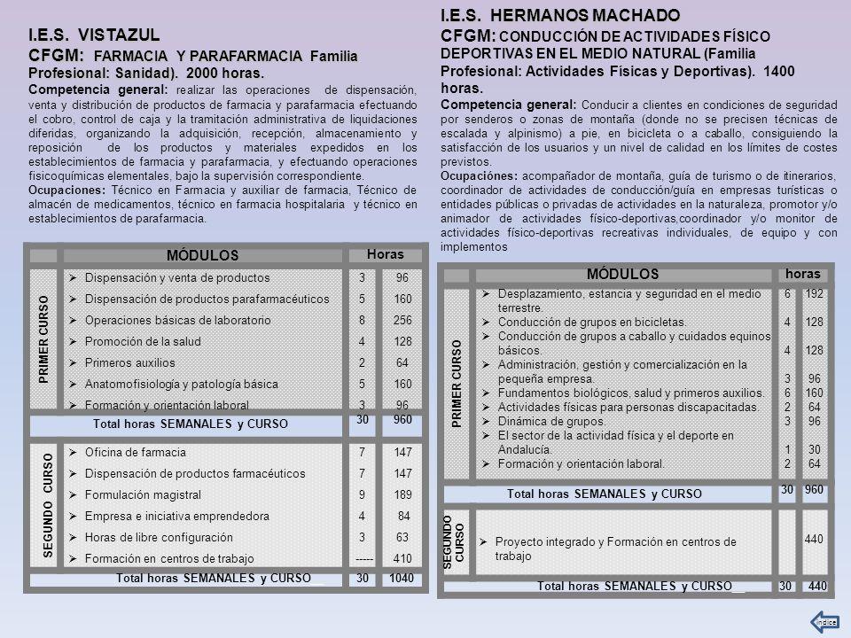 I.E.S.HERMANOS MACHADO e I.E.S.
