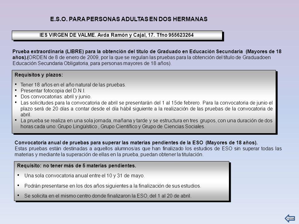 La Profesión RequisitosMas información en….
