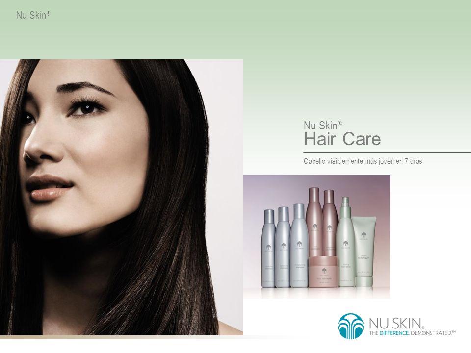 Cabello visiblemente más joven en 7 días Nu Skin ® Hair Care Nu Skin ®