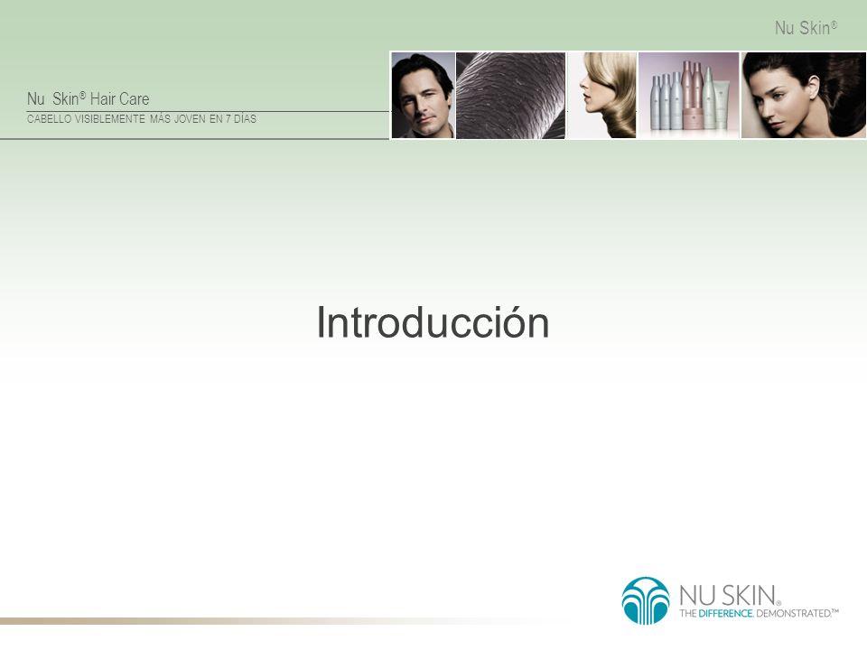 Nu Skin ® Hair Care CABELLO VISIBLEMENTE MÁS JOVEN EN 7 DÍAS Nu Skin ® Introducción