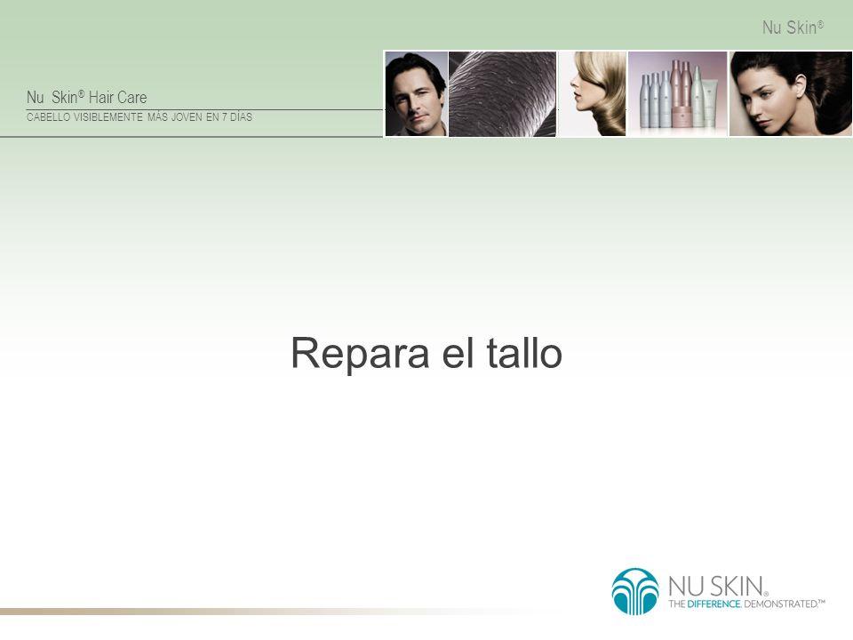 Nu Skin ® Hair Care CABELLO VISIBLEMENTE MÁS JOVEN EN 7 DÍAS Nu Skin ® Repara el tallo