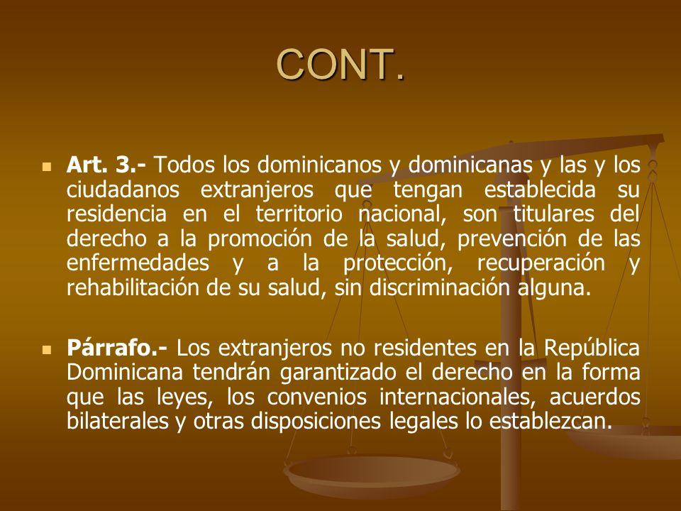TÍTULO II DE LA PREVENCIÓN Y CONTROL DE ENFERMEDADES Y ACCIDENTES