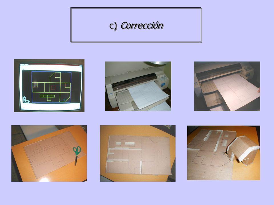 d) Productos finales