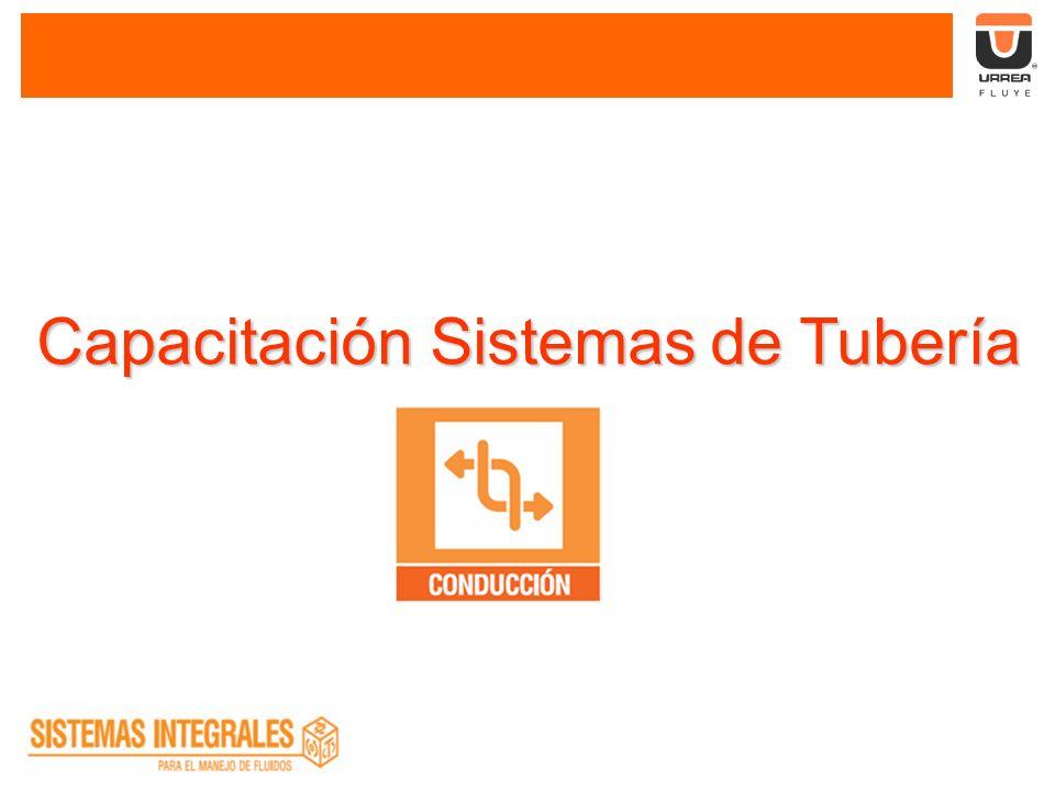 Capacitación Sistemas de Tubería