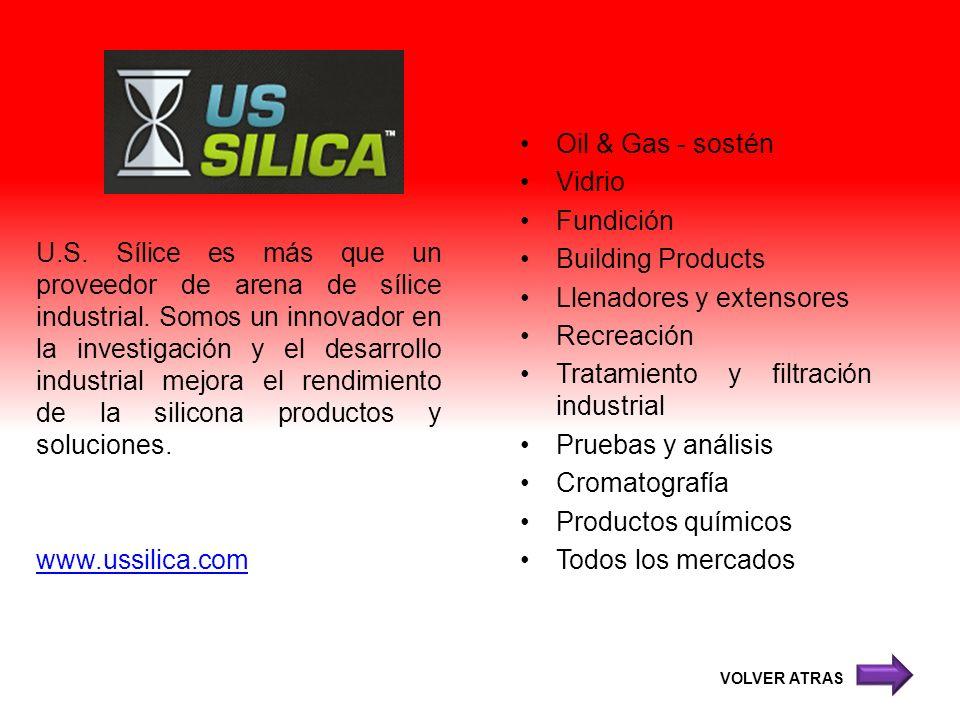 U.S. Sílice es más que un proveedor de arena de sílice industrial. Somos un innovador en la investigación y el desarrollo industrial mejora el rendimi
