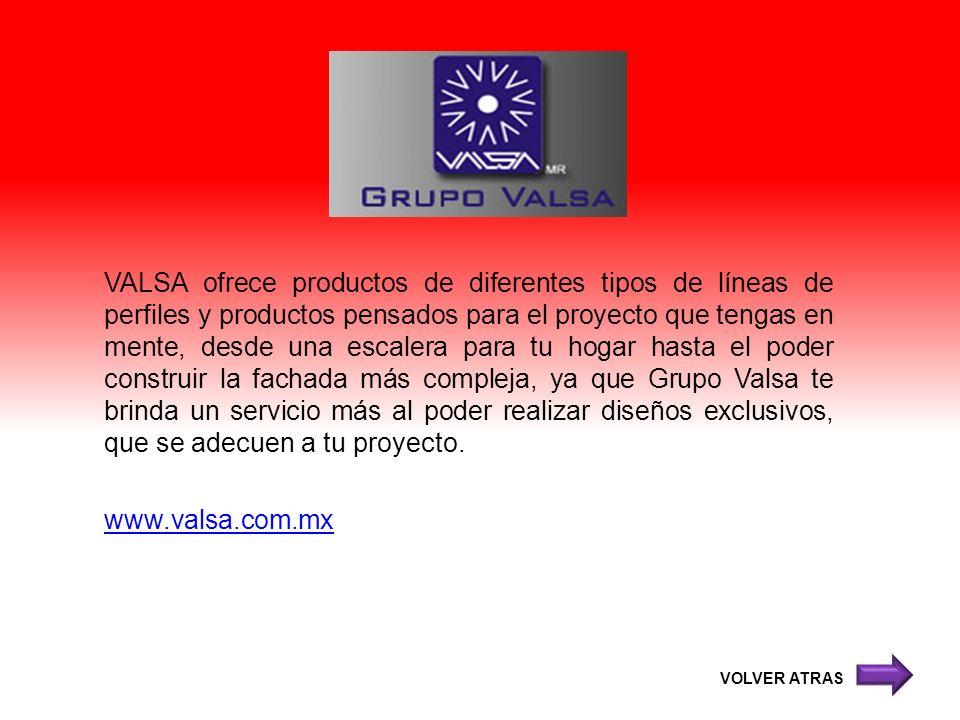 VALSA ofrece productos de diferentes tipos de líneas de perfiles y productos pensados para el proyecto que tengas en mente, desde una escalera para tu