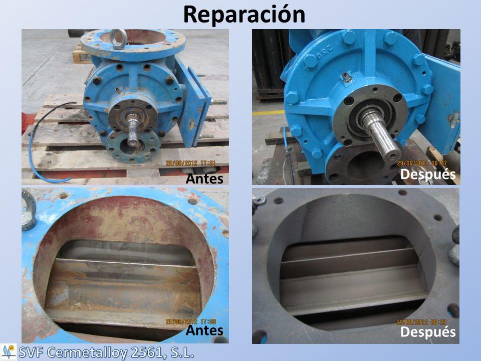 Reparación Antes Después Antes Después