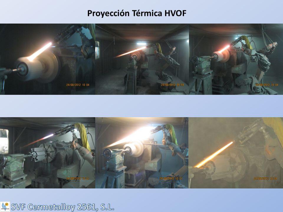 Proyección Térmica HVOF