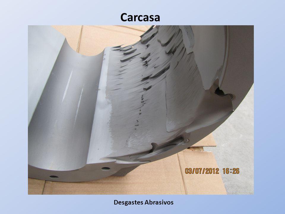 Desgastes Abrasivos Carcasa