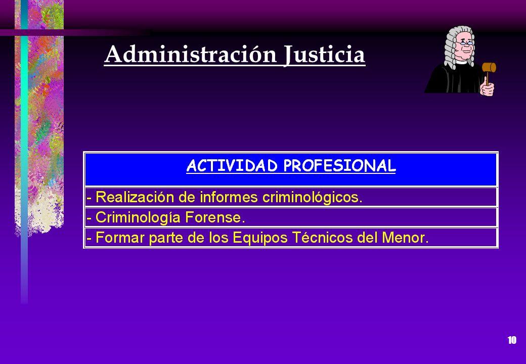 10 Administración Justicia