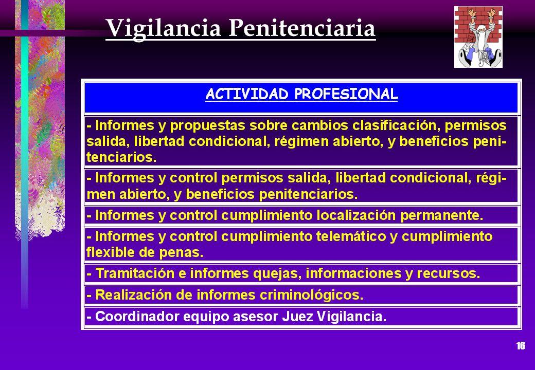 16 Vigilancia Penitenciaria
