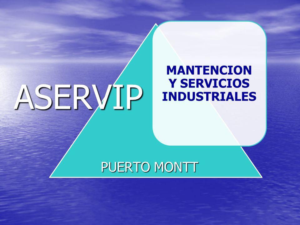 MANTENCION Y SERVICIOS INDUSTRIALES ASERVIP PUERTO MONTT