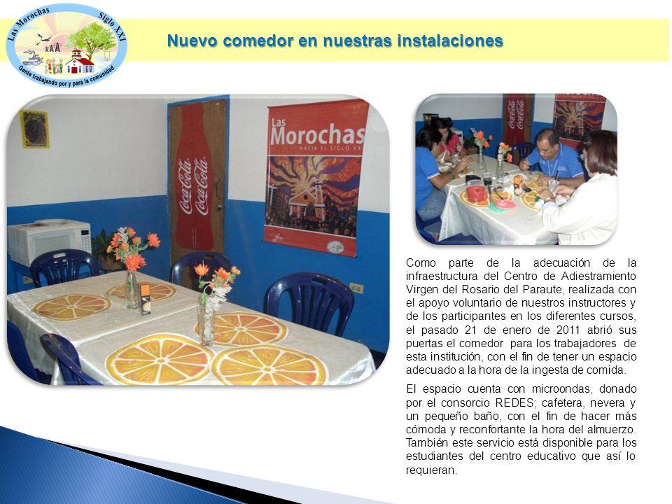 Nuevamente la Fundación Las Morochas Siglo XXI ha recibido el aporte de diferentes empresas para consolidar su labor social.