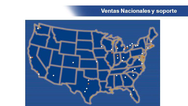 Ventas Nacionales y soporte