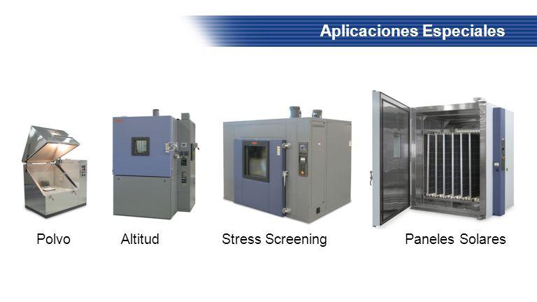 Aplicaciones Especiales Polvo Altitud Stress Screening Paneles Solares