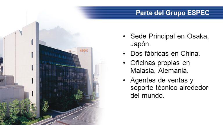 Sede Principal en Osaka, Japón. Dos fábricas en China. Oficinas propias en Malasia, Alemania. Agentes de ventas y soporte técnico alrededor del mundo.