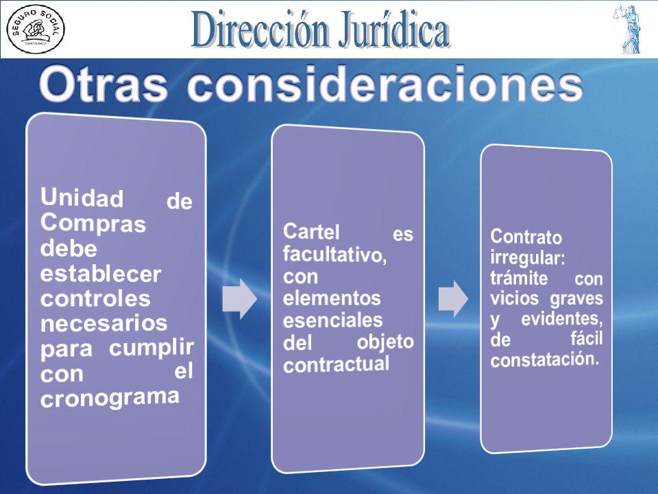 CDEC concursada: –Cartel sencillo –Cartel sencillo: descripción de objeto, plazo y forma de entrega, hora y fecha de recepción de ofertas (1- 5 días hábiles o 4 h).