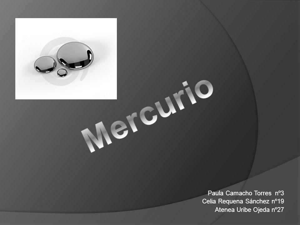 Índice 1.Introducción 2. Características físico químicas del mercurio 3.