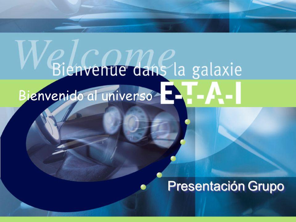 ETAI : filial del Grupo INFOPRO Polo Industria y Artes Creativas INFOPRO Grupo ETAI ETAI Francia Tunez y Polonia Uno de los primeros grupos europeos de información profesional 120 M de facturación / 750 empleados 2 polos de competencias : POLO AUTOMOVIL POLO INDUSTRIAL 25 % FACT75 % FACT ETAI Ibérica Portugal ETAI Italia Packaging Anuarios Grupo Prensa Servicios