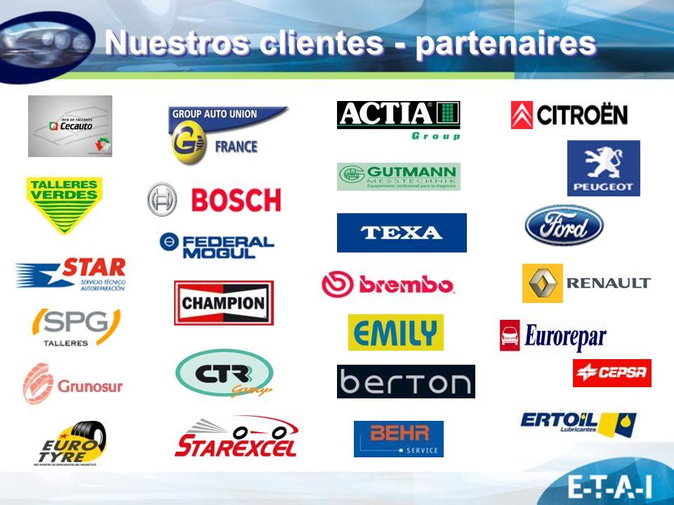 Nuestros clientes - partenaires