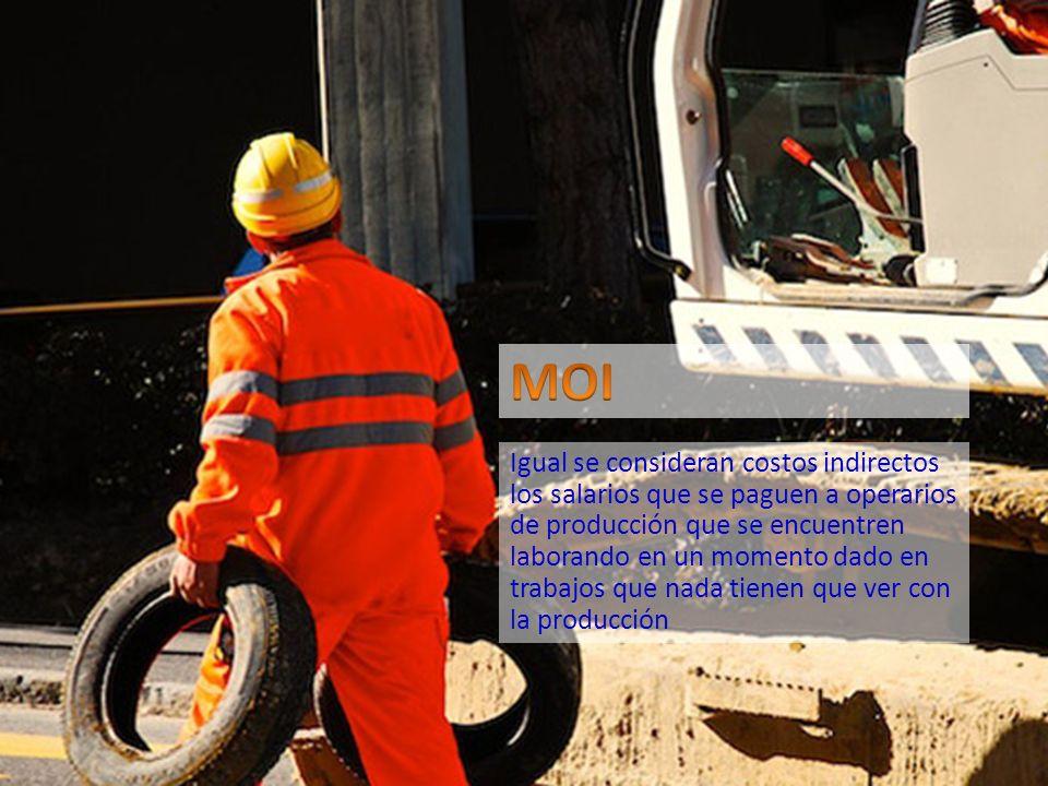 SALARIOS DE SUPERVISION DE FABRICA Remuneración que se paga a trabajadores que desempeñan labores de supervisión, cuya capacitación laboral debe ser superior a la de los obreros de producción SE REGISTRARAN CONTABLEMENTE CON UN DEBITO A LA CUENTA CIF CONTROL - SUPERVISIÓN