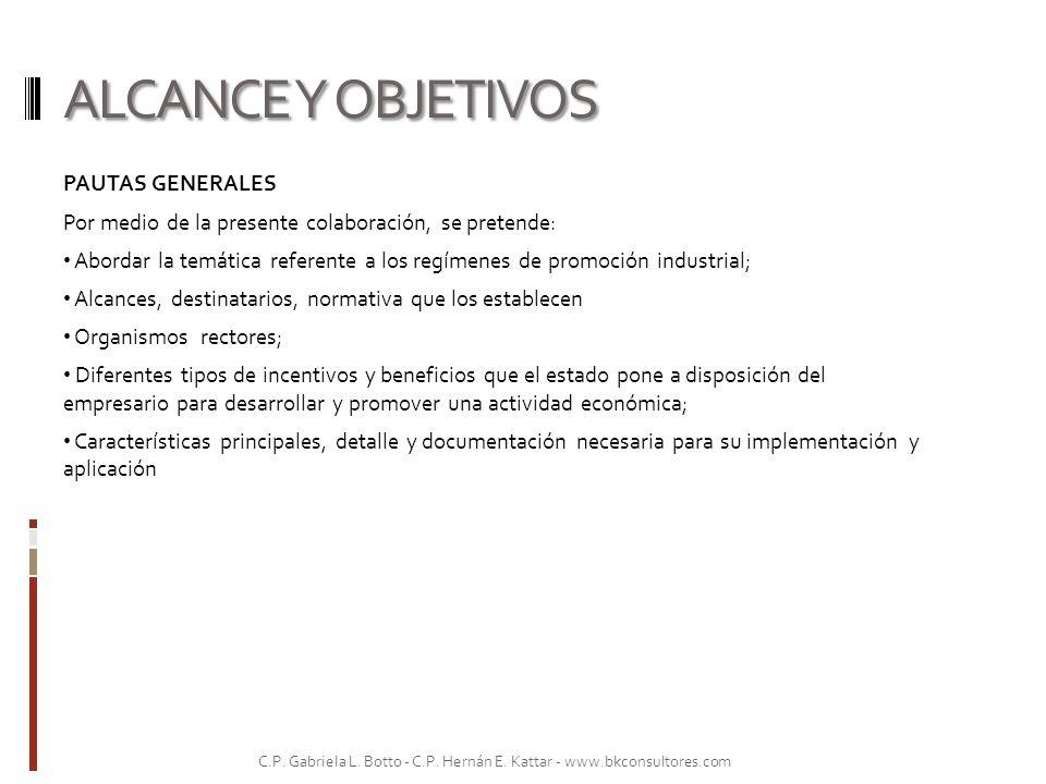 TIPOS DE INCENTIVOS Y BENEFICIOS FISCALES OBJETIVOS DE LOS PLANES DE INCENTIVOS FISCALES.