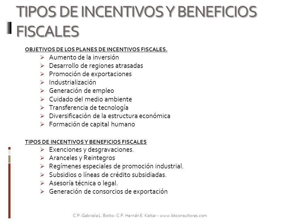 PRINCIPALES REGÍMENES DE PROMOCION E INCENTIVOS FISCALES 1.3 Sociedades de Garantías Recíprocas (SGR).
