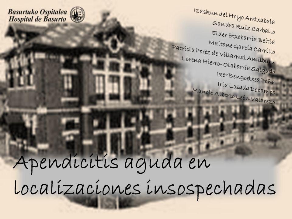 Apendicitis aguda: historia 1581 Peritiflitis 1736 Claudius Amyand 1886 Reginald Heber Fitz 1889 Charles Heber McBurney 1961 Leonid Ivanovich Rogosov
