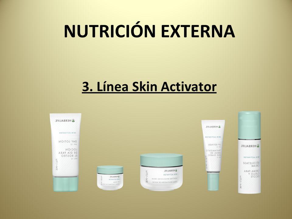 NUTRICIÓN EXTERNA 3. Línea Skin Activator