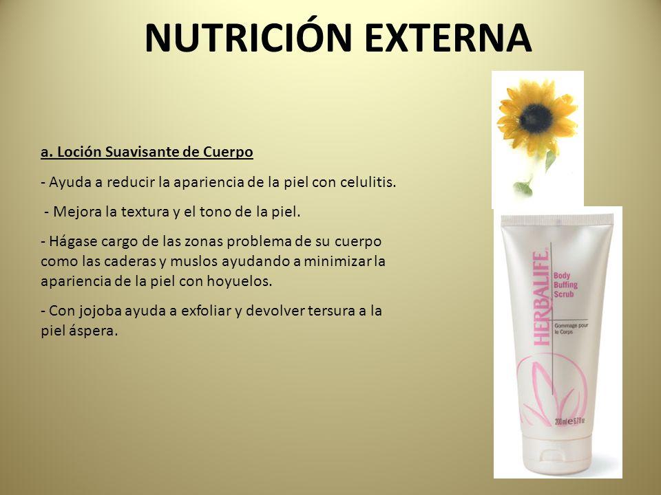 b.Crema Moldeadora -Con gingko y ácidos frutales ayuda a aumentar la firmeza de la piel.