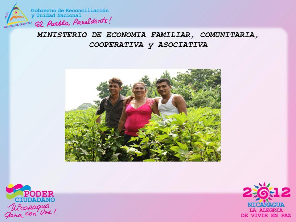 MINISTERIO DE ECONOMIA FAMILIAR, COMUNITARIA, COOPERATIVA y ASOCIATIVA 27