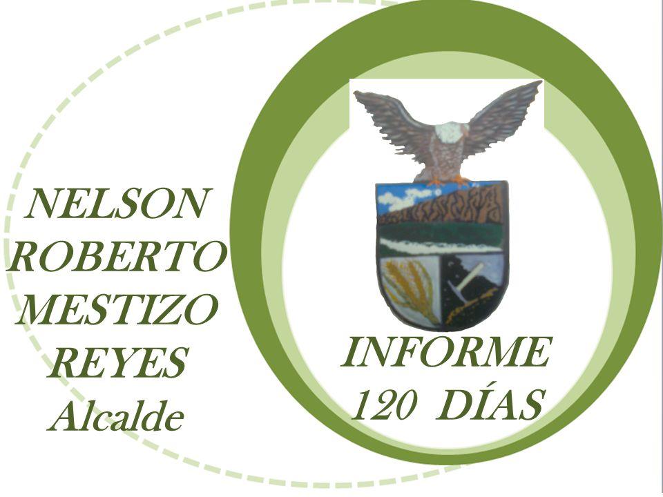 INFORME 120 DÍAS NELSON ROBERTO MESTIZO REYES Alcalde